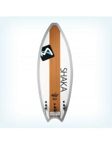 Deska wakesurfer Shaka wood