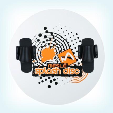 Talerz Splash Disc 74 + wiazania Mono  B2 pomarańczowa