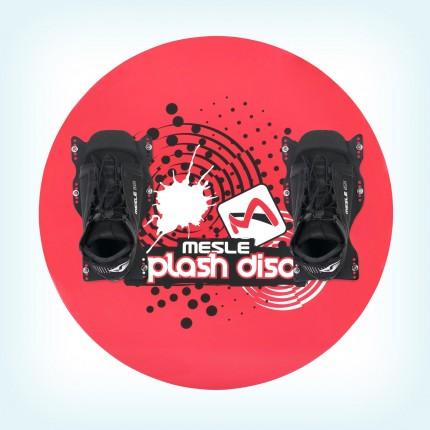 Talerz Splash Disc 74 + wiązania B6 czerwony