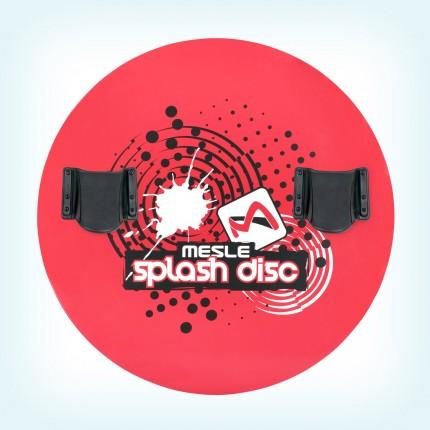 Talerz Splash Disc 74  + wiązania B22R czerwony