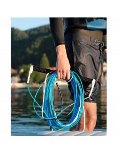 Lina do wakeboarda 6 sekcji niebieska