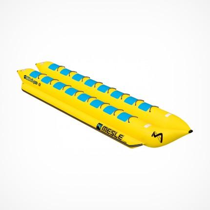 Podwójny banan do holowania za łodzią 16 osobowy
