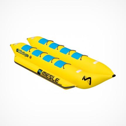 Podwójny banan do holowania za łodzią 8 osobowy