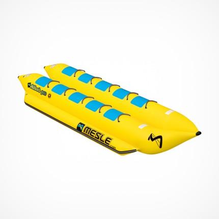 Podwójny banan do holowania za łodzią 10 osobowy