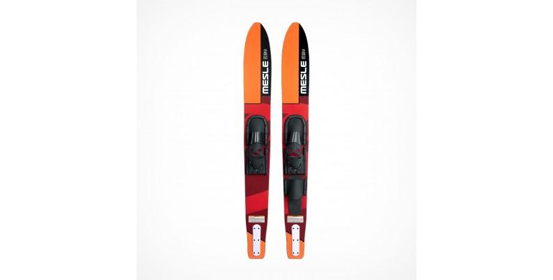 Slalom skiing for lovers of sharp turns and slalom