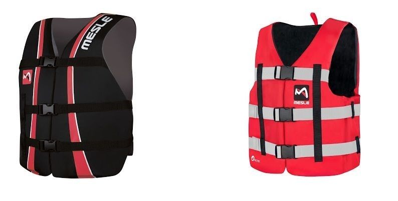 Life jackets help keep you on the water after falling
