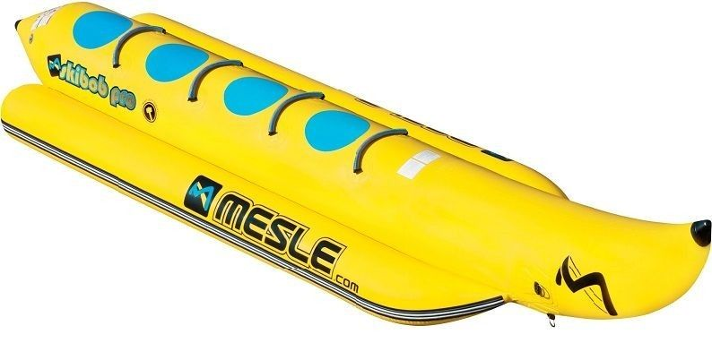 Mesle bananas chaser for towing behind a motorboat