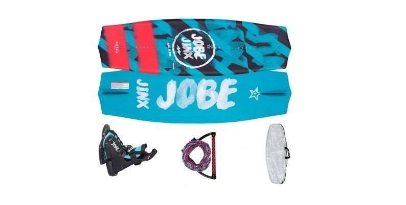 Sets of wakeboard boards with bindings