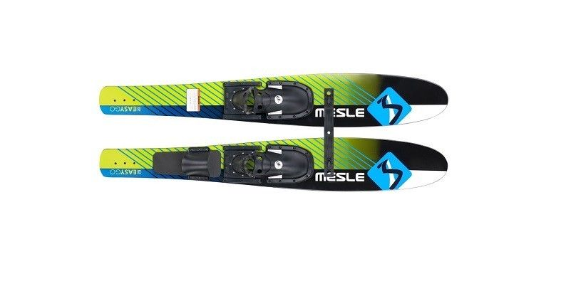 Wide Combo skis for beginners and advanced people