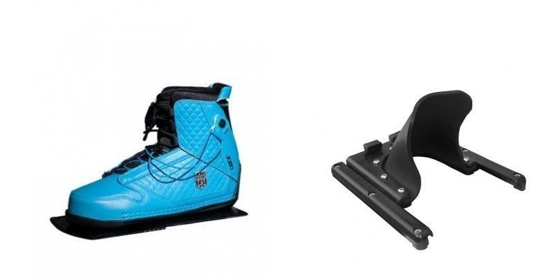 The bindings ensure the best stability and comfort