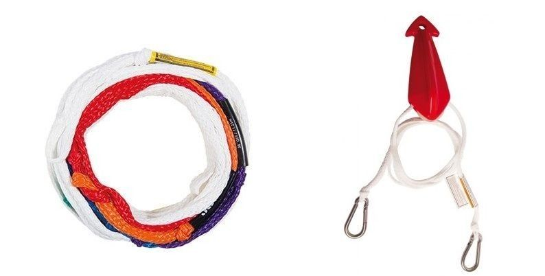 Ropes and handles of renowned brands, Mesle, Jobe