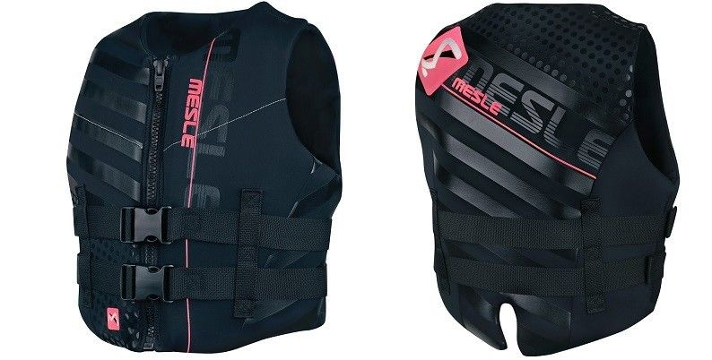 Women's safety vests help keep you on the water